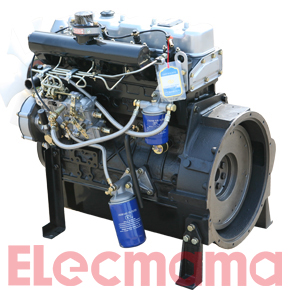 Y4102D diesel engine for genset 33KW-1500rpm 39KW-1800rpm