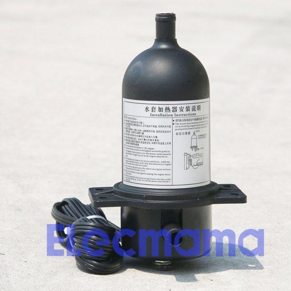 water jacket heater for diesel engine