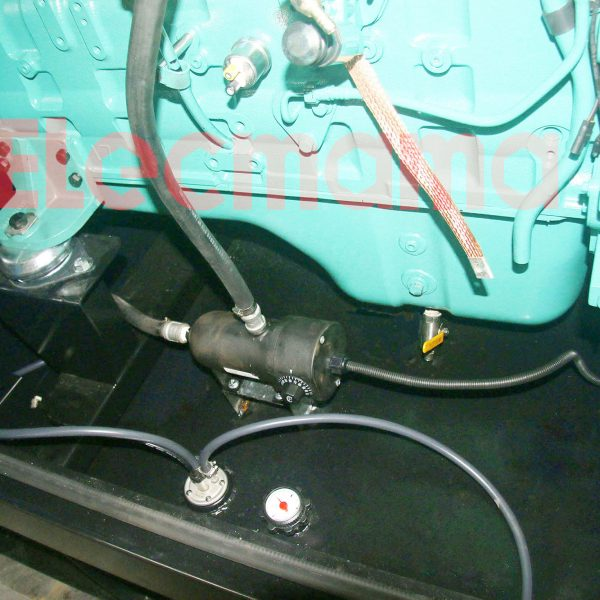 water jacket heater installation