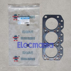 QC385D cylinder head gasket