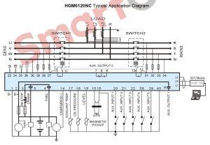 Smartgen HGM 6120NC wiring diagram