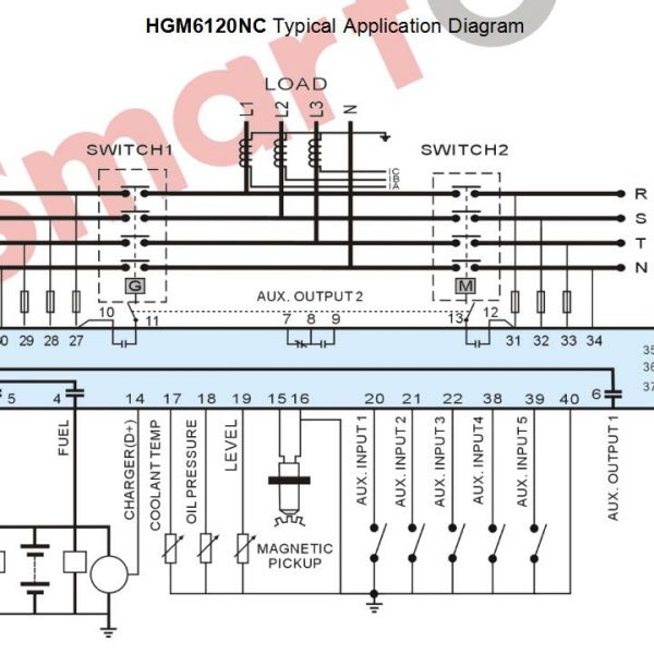 Wiring Diagram Genset Perkins