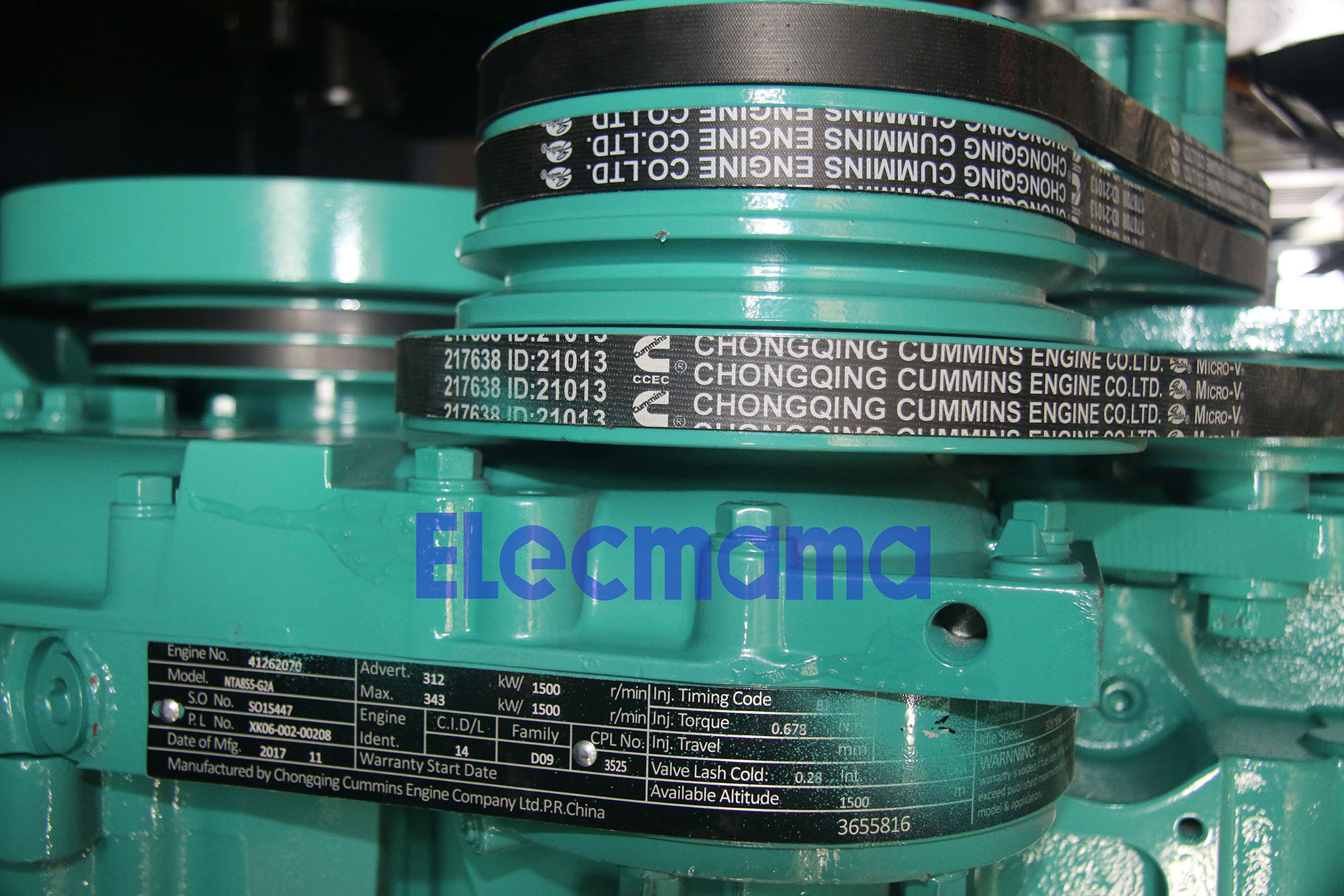 Cummins Engine Belt 217638 | Yangzhou Yongcai Machinery Co