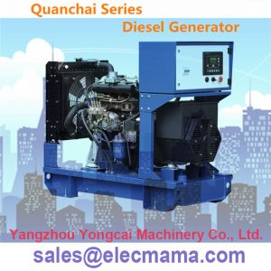 QC480D Quanchai diesel generator
