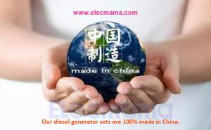 elecmama brand diesel generator sets made in China
