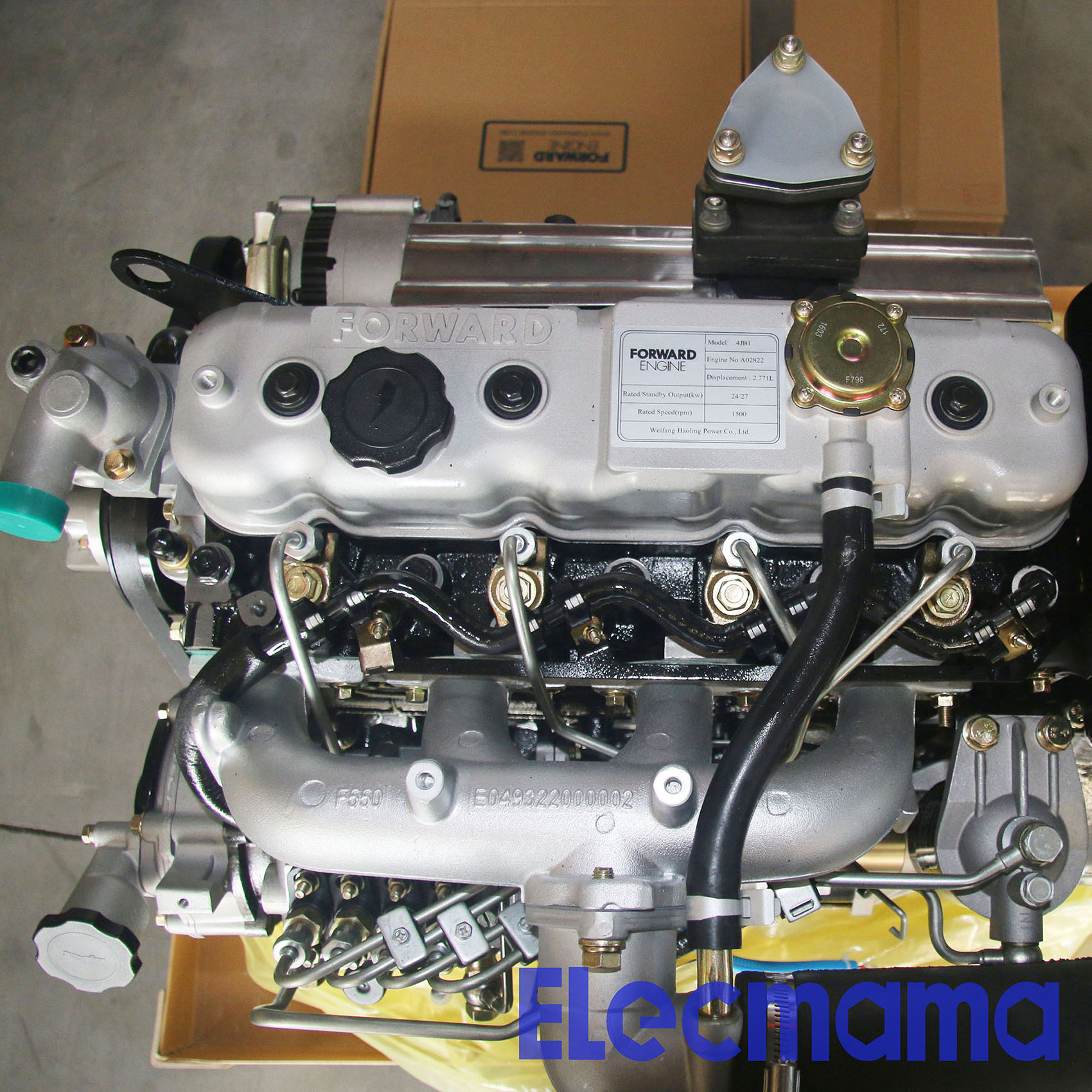 Foton Forward 4JB1T Diesel Engine For Genset | Yangzhou Yongcai