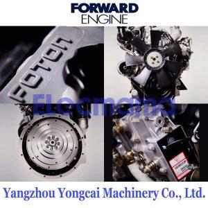 4JB1TA Foton Forward diesel engine