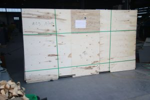 150kw Cummins diesel generator plywood case