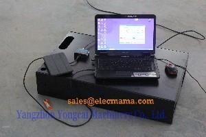 remote controlled diesel generator testing