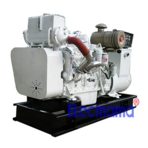 100kw Cummins marine auxiliary diesel generator set