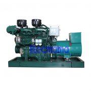100kw Yuchai marine auxiliary diesel generator set