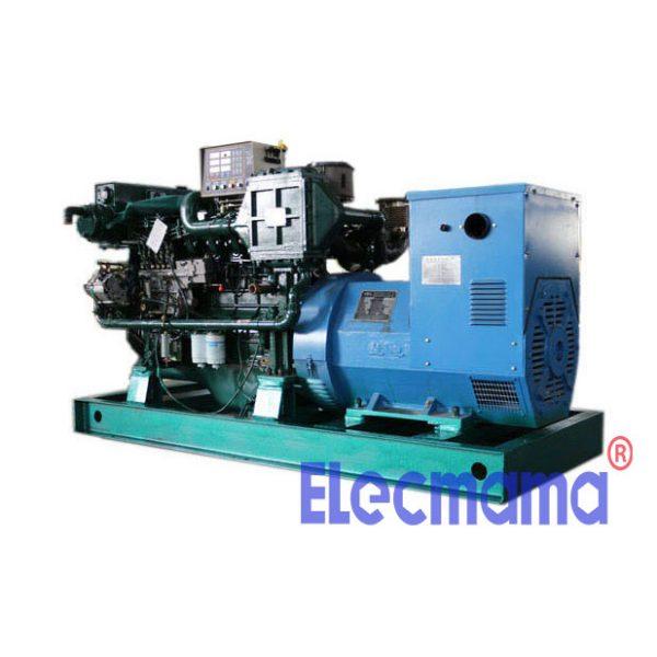 120kw Yuchai marine auxiliary diesel generator set