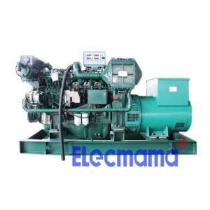 180kw Yuchai marine auxiliary diesel generator set
