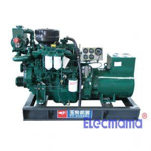 24kw Yuchai marine auxiliary diesel generator set