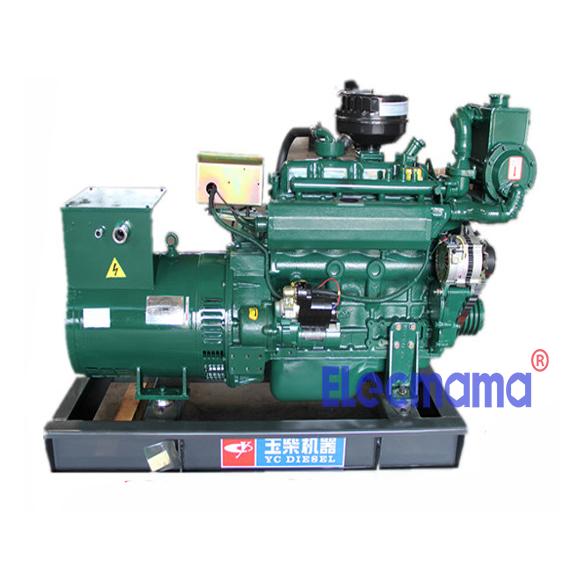 24kw Yuchai marine auxiliary diesel generator set -2