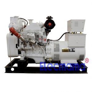 30kw Cummins marine auxiliary diesel generator set