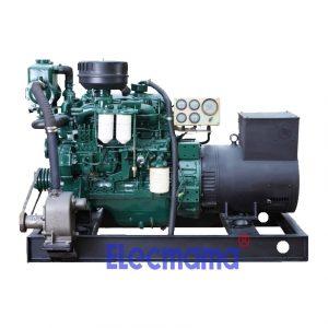30kw Yuchai marine auxiliary diesel generator set