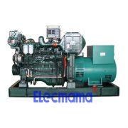 64kw Yuchai marine auxiliary diesel generator set