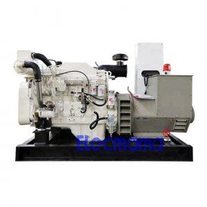 75kw Cummins marine auxiliary diesel generator set