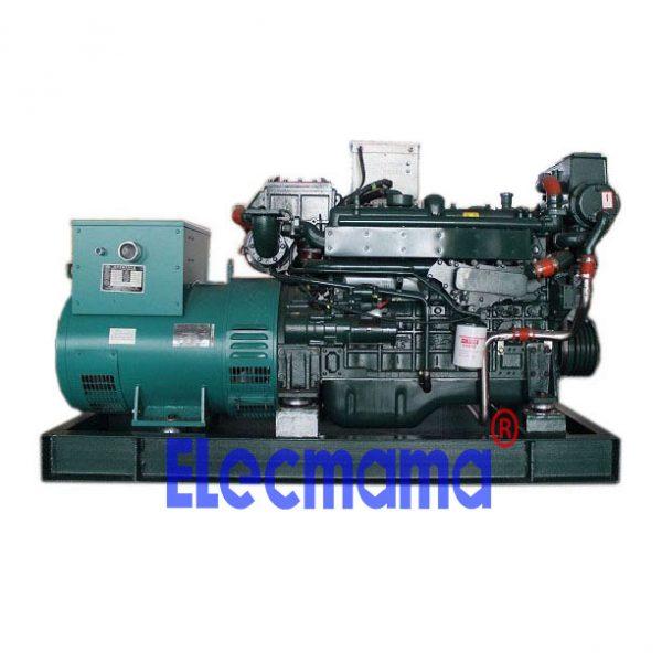 75kw Yuchai marine auxiliary diesel generator set