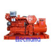 90kw Yuchai marine auxiliary diesel generator set -1