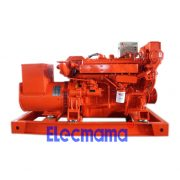 90kw Yuchai marine auxiliary diesel generator set -2