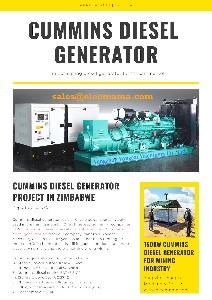 150kw Cummins diesel generator YCM150DC