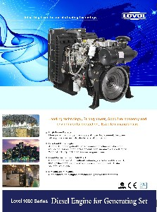 Lovol 1000 Series Diesel Engine For Generating Set