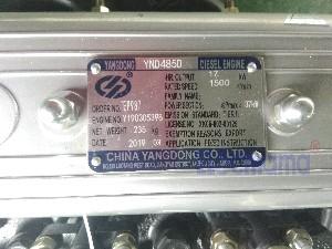 YND485D Yangdong diesel engine nameplate