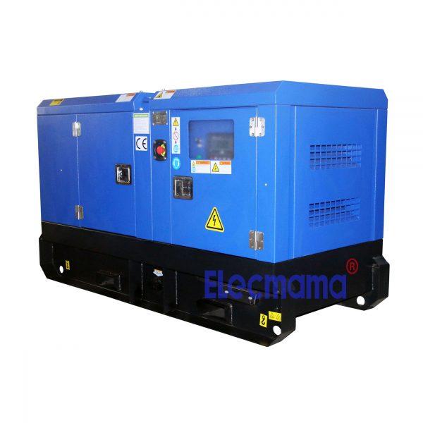 silent Cummins diesel generator -1
