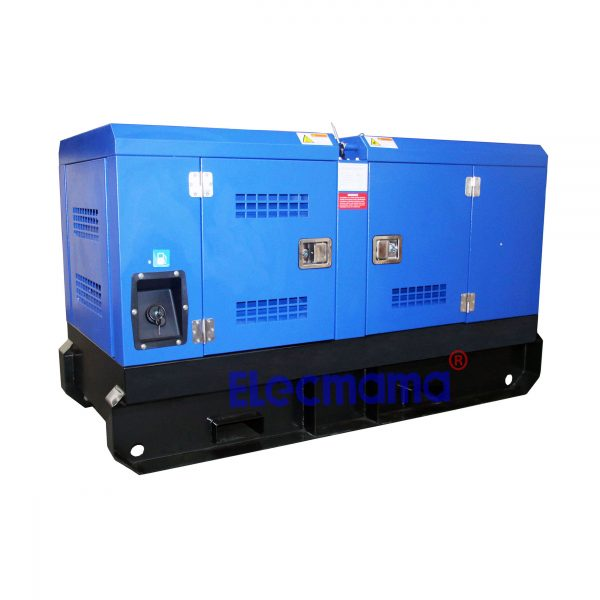 silent Cummins diesel generator -2