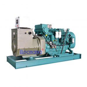 100kw Weichai marine auxiliary diesel generator set