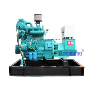 24kw Weichai marine auxiliary diesel generator set