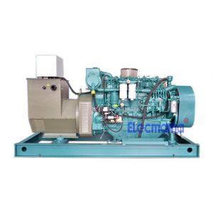 90kw Weichai marine auxiliary diesel generator set