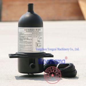 engine block heater for generator set