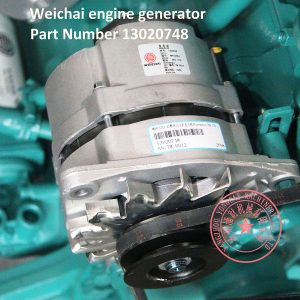 Weichai diesel engine alternator part number 13020748