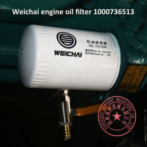 Weichai D226B-3D engine oil filter 1000736513