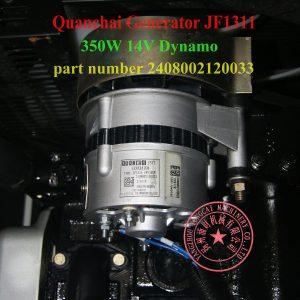 QC385D alternator JF1311 14V 350W