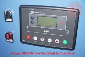 UK Deepsea DSE6120 MKII | Auto Mains (Utility) Failure Control Module