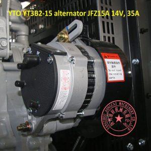 YTO YT3B2-15 alternator JFZ15A 14V 35A
