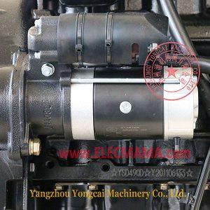 Yangdong YSD490D diesel engine starter motor QDJ1329D, 12V 3.5kW starter