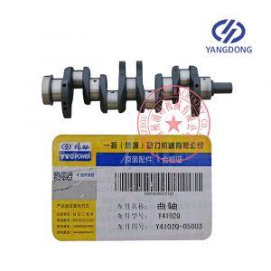 Y4102Q Yangdong diesel engine crankshaft Y4102Q-05003