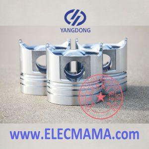 Yangdong 3 cylinder diesel engine piston