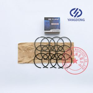 Yangdong 4 cylinders diesel engine piston rings