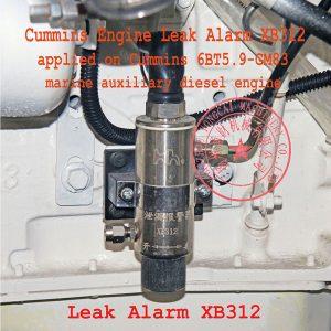 Cummins 4BTA3.9-GM47 engine leak alarm XB312
