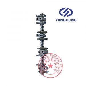 Yangdong Y4102D valve rocker arm assembly
